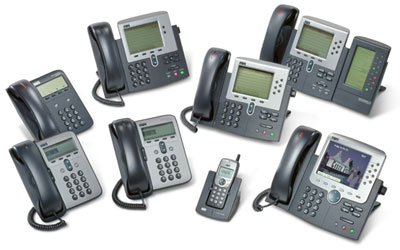 Cisco 7900 VOIP Products